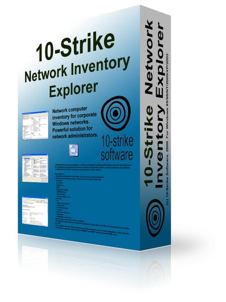 О программе: 10-Strike Network Inventory Explorer - программа для инвентари
